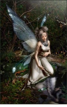 """Fairy ❤❦♪♫Thanks, Pinterest Pinners, for stopping by, viewing, re-pinning, & following my boards. Have a beautiful day! ^..^ and """"Feel free to share on Pinterest ♡♥♡♥ #elfs #Fantasy #fairies #justforkids ❤❦♪♫ Fairy Dust, Fairy Land, Fairy Tales, Fantasy Fairies, Sprites, Nymphs, Pixies, Fairy Pictures, Pictures Images"""