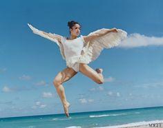 Aly Raisman in Vogue