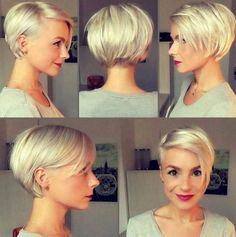 Short Cropped Pixie Haircuts