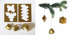 paper ornaments for christmas tree
