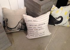 Sugarboo Designs vintage inspired pillows #hpmkt