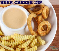 Beer Cheese Dip is the ultimate party food for beer lovers and football fans. The easy hot dip recipe is made in the slow cooker and only contains 3 ingredients!