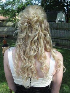 My graduation hair :)
