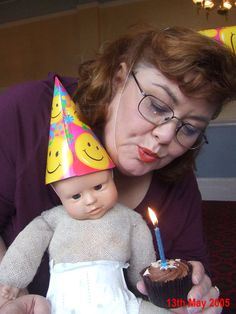 Psychoville. Freddy's birthday ....i really. wanted freddy fruitcake to come to life.