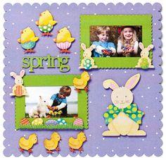 Embellish Your Story Spring Holiday Magnets at Fiddlesticks