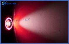 Red Lens Angel Eyes Headlights LED Fog Light Bulbs COB LED Fog Lamps 12V IP65
