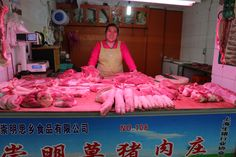 meat market in Shanghai Shanghai, Mermaid, Meat, Formal Dresses, Fashion, Dresses For Formal, Moda, Formal Gowns, Fashion Styles