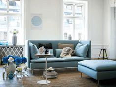 new sofa from ikea - Photographer: Patric Johansson