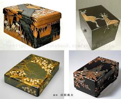 Writing Boxes - Ogata Kōrin (1658-1716), Edo period/18th century