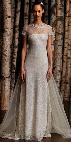 Naeem Khan Spring 2015 Bridal Collection - Naeem Khan from #InStyle