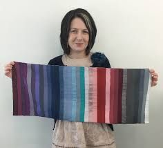 How fun is this mini-quilt of a Rose-Tone Summer's palette? Joy Overstreet, personal color analyst and image consultant, Portland. www.colorstylePDX.com Deep Winter, Soft Autumn, Autumn Summer, Soft Summer Color Palette, Summer Colors, Seasonal Color Analysis, Season Colors, Color Theory, Summer Hairstyles