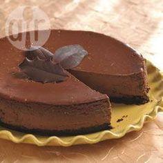 Foto de la receta: Pastel de queso, capuchino y chocolate