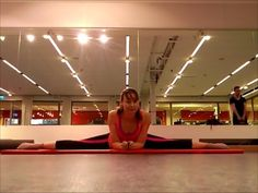 stretches for middle splits and straddle