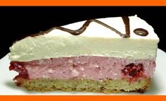 "To je prípad aj tohoto ""koláčika"". Môže za to fantastický… Lidl, Vanilla Cake, Mousse, Cheesecake, Desserts, Pastries, Food, Hampers, Pies"