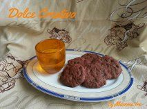 Biscotti al cioccolato e zenzero aromatizzati al cointreau. Brutti ma buoni!