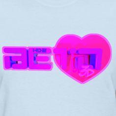Custom made t-shirt for beto  BloX3D NYC Newheart design