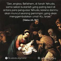 #Betlehem #Yehuda #pemimpin #Israel #Matius #AYT #natal #christmas
