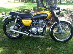 My first motorcycle, the 1972 Honda CB500. Bought it when home on leave after Air Force Basic Training and Tech School in April of 1972.