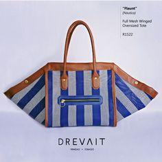 Drevait Designer Handbag - Flaunt Resort Tote - Nautica  Join the Journey on Instagram: @drevaitofficial, and Facebook: www.facebook.com/drevaitofficial