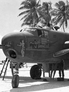 B-25 with a 75mm main gun. The aircraft would slow down every time it fired.