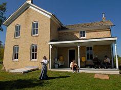 Grimm Farm historic site at Carver Park Reserve