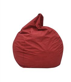 Red Barrel Studio The Big Pear Bean Bag Chair Upholstery: Red Giant Bean Bag Chair, Leather Bean Bag Chair, Giant Bean Bags, Large Bean Bags, Bean Bag Sofa, Modern Bean Bag Chairs, Modern Bean Bags, Large Bean Bag Chairs, Modern Swivel Chair