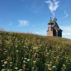 Church in Vershinino village, Kenozero National Park, Russia. Photo by Dmitri Korobtsov.