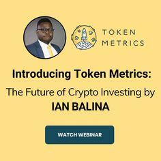 Token Metrics Web Seminerine katılın ve Ian Balina ile Kripto'nun Geleceğini Keşfedin! Token Metrics'in neler yapabileceğini ve araştırmanıza nasıl yardımcı olabileceğini daha yakından inceleyin. Sadece sınırlı bir süre için! Money Trading, Crypto Market, Machine Learning, Blockchain, Cryptocurrency, Investing, How To Make Money, Knowledge, Free