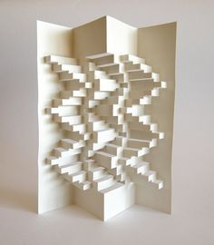 3D Paper Structure - Peter Dahmen | Flickr - Photo Sharing!