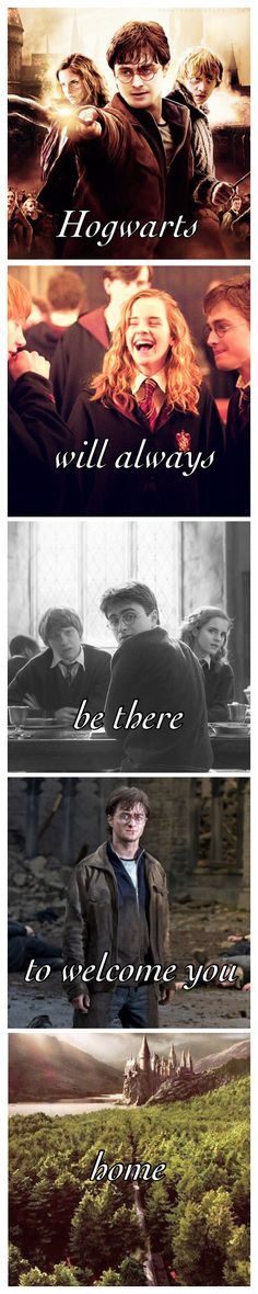 So even though Harry Potter is fictional it's things like this that get me emotional it's part of my life now. It's real to me.