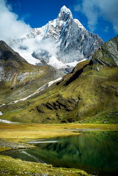 Mount Jirishanca from Cordillera Huayhuash Peru [1368x2048][OC]. wallpaper/ background for iPad mini/ air/ 2 / pro/ laptop @dquocbuu