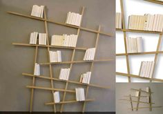 Bibliotheque Mikado French Contemporary Bookshelf by LeKubeStudio, $1600.00