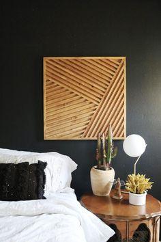 Black Accent Walls, Textured Walls, Wood, Wood Wall Art, Wood Wall Design, Modern Wood, Modern Wall, Rustic Wall Art, Modern Wall Art
