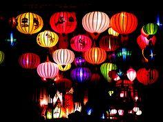 Lanterns in Hoi An, Vietnam. Photo by Sadie Emsen