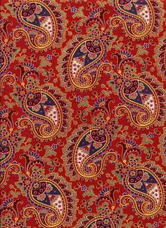 Red Russian Paisley                                                                                                                                                                                 More