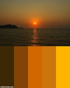 Sunset, Bay Of Bangkok Color Palette Bangkok, Color Schemes, Palette, Celestial, Sunset, Outdoor, R Color Palette, Outdoors, Colour Schemes