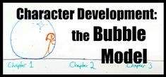 Character development: the bubble model – Words like trees People Change, Real People, From Beginning To End, Minor Character, Great Expectations, Low Self Esteem, Character Development, Real Life, Bubbles