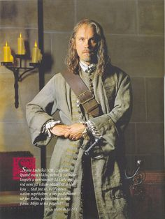 john malkovich as athos   John Malkovich as Athos in The Man with the Iron Mask (1998)