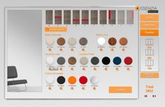 Esta es la pantalla en donde tenemos todos los modelos de puertas junto con los colores ya que hay colores base, colores lacados y colores de cristales