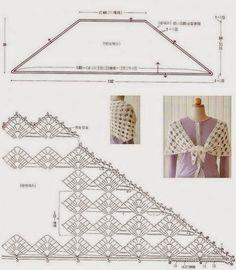 CARAMELO DE CROCHET: crochet shawl