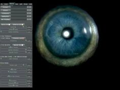 EYE parallax mapping test Marmoset Toolbag