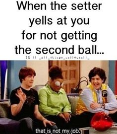 General Kicks for Soccer Training Hahaha! This is so funny cause im a setter and i get this alot ! But it's true. This is so funny cause im a setter and i get this alot ! But it's true. Volleyball Jokes, Volleyball Workouts, Play Volleyball, Volleyball Setter, Volleyball Sayings, Volleyball Problems, Volleyball Motivation, Volleyball Uniforms, Cheer Uniforms