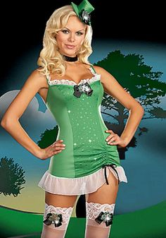 My St. Patrick day outfit I want from 3wishes.com