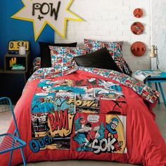 Marvel - 3 suisses - Bed
