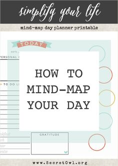 How to Mind-Map Your Day