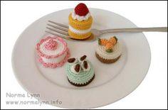 Mini Cakes - Norma Lynn Cake Sachets