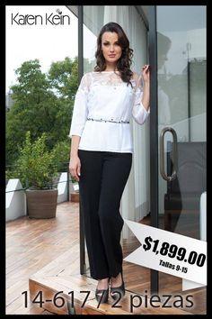 """Nada más elegante que lucir un conjunto """"Black & White"""""""