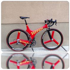 Ferrari bicycle from colnago with campagnolo super record … | Flickr