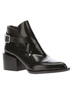 Jil Sander Ankle Boots.