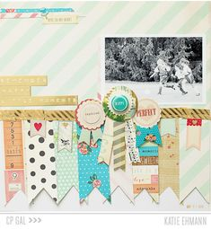 Remember Happy Little Moments by Katie Ehmann for Crate Paper